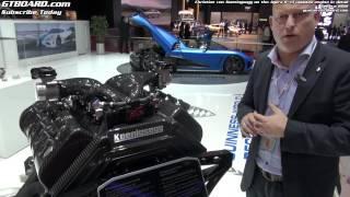 Download Engine in detail Koenigsegg Agera R by Christian von Koenigsegg Video