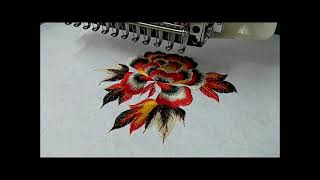 Download Computerized Embroidery Machine 12-15 Colors Video