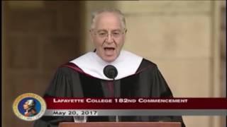 Download Ron Chernow Raps ″Alexander Hamilton″ at Lafayette College Commencement Video