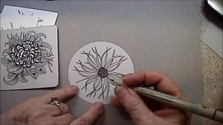 Download Squid Tangle Pattern Lesson #165 Video