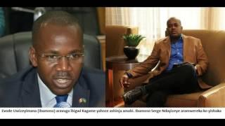 Download Serge arereka Evode ko yibeshya agira ngo arabeshya Kagame Video