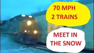 Download TWO 70 MPH Trains in ONE Video Video