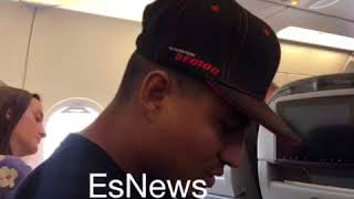 Download Mikey garcia on Eddie Hearn Meeting Video
