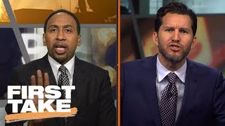 Download Stephen A. and Will Cain Have Verbal Battle Over Phil Jackson | First Take | June 28, 2017 Video