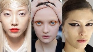 Download Top Makeup Trends From New York Fashion Week | Color and Cat Eyes! | Beauty Beat Video
