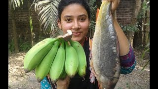 Download Fish and Green Banana Curry | Most Tasty and Healthy Easy Recipe | Cooking By Street Village Food Video
