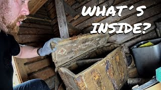 Download Found Old Chest in a Abandoned Log Barn Video
