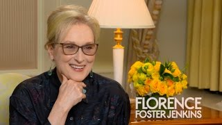 Download Meryl Streep Talks About Her Role in 'Florence Foster Jenkins' Video