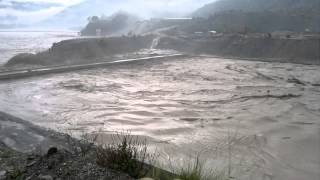 Download Alaknanda hydro project.... during flood on 16th Video