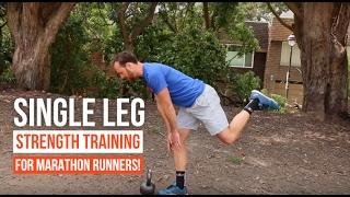 Download Single Leg Strength Training for Marathon Runners! Video