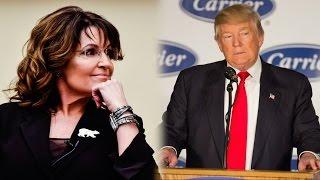 Download Palin criticizes Trump's Carrier deal Video