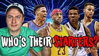 Download Can YOU Name Every NBA Starting Lineup? (Impossible) Video