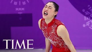 Download Mirai Nagasu Makes History As The First American Woman To Land A Triple Axel At The Olympics | TIME Video