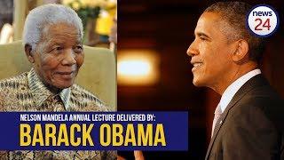Download WATCH LIVE: Barack Obama speaks at Nelson Mandela centenary celebrations in Joburg Video