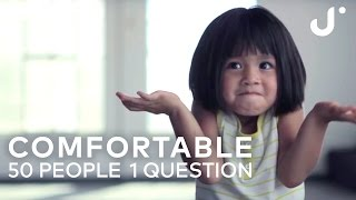Download Comfortable: 50 People 1 Question Video