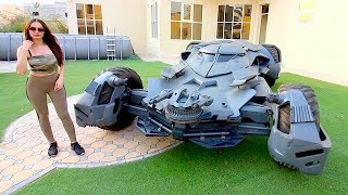 Download A DAY WITH THE BATMOBILE !!! Video