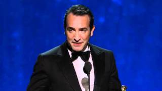 Download Jean Dujardin Wins Best Actor: 2012 Oscars Video