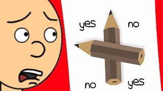 Download Caillou Does the Charlie Charlie Challenge/Killed Video