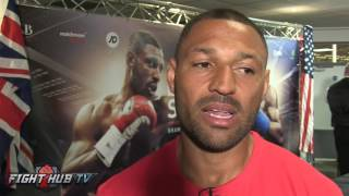 """Download Kell Brook ready to go thru hell to defend belt. Khan """"hits the deck quick but fight won't happen″ Video"""