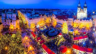 Download A Walk Around Prague At Christmas Video