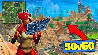Download What Happens When 50v50 ENDS IN TILTED TOWERS! [Fortnite Battle Royale] Video