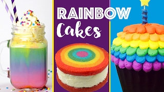 Download RAINBOW DESSERTS COMPILATION Rainbow Cake Cookies Surprise Inside Cupcakes Video