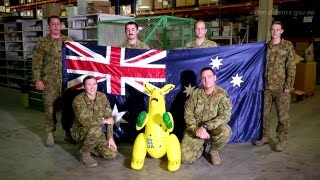 Download Australia Day shout-outs from the Middle East Region Video