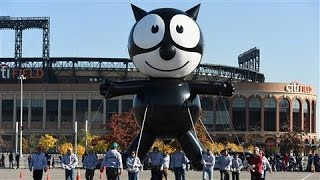 Download Felix the Cat Balloon Returns to Macy's Parade Video