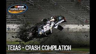 Download Nascar Truck Series - 2017 - Texas - Crash Compilation Video