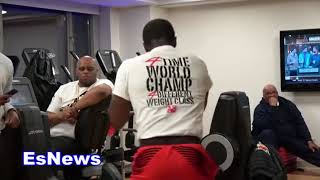 Download (10 PUNCH COMBOS) Adrien Broner Last Workout Before Fight Night EsNews Boxing Video