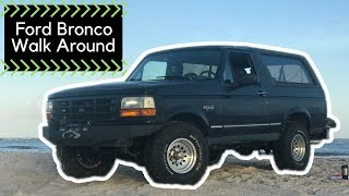 Download 1996 Ford Bronco Rig Walk Around MANUAL SWAP ZF5!! AE19 Video