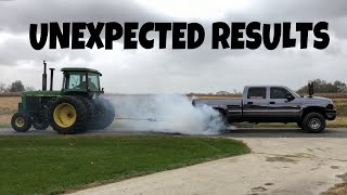 Download How much DUCT TAPE does it take to hold a Tractor and a 700HP Truck together? Video