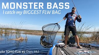 Download GIANT BASS on TOHO - FLW Tour #2 Video