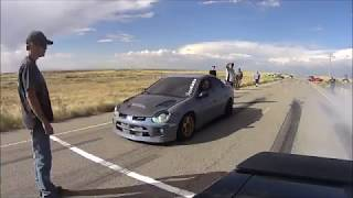 Download Neon SRT4 vs 2017 Challenger Hellcat Video