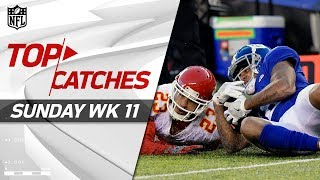Download Top Catches from Sunday | NFL Week 11 Highlights Video