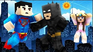 Download Super Minecraft Adventures - FIRST DAY AS A SUPERHERO! #1 Video