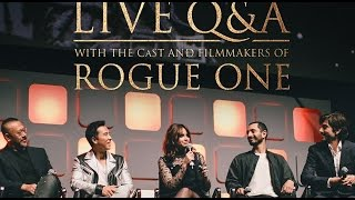 Download Rogue One: A Star Wars Story LIVE Cast Twitter Q&A FULL Panel Dec 2 2016 Video