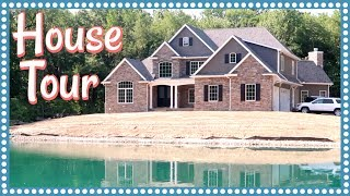 Download OUR EMPTY HOUSE TOUR & WHOLE HOUSE CONSTRUCTION MONTAGE Video