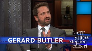 Download Gerard Butler Spent Seven Years Studying, Practicing Law Video