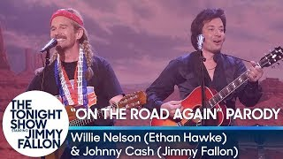 Download ″On The Road Again″/″Let's Just Stay Here″ Duet with Willie Nelson and Johnny Cash Video