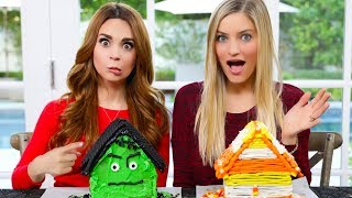 Download Gingerbread House Decorating Challenge! - HALLOWEEN EDITION ft iJustine! Video