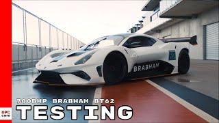 Download Brabham BT62 Testing Video