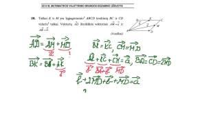 Download Vektoriai. Matematikos valstybinis brandos egzaminas. Video