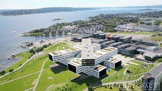 Download Norway Fornebu modern architecture Video