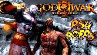 Download God Of War III Remastered Part 1 - Poseidon Boss Fight Walkthrough Gameplay Video