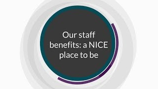 Download Our staff benefits: a NICE place to be Video