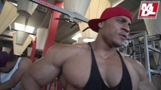 Download Lio Cardoza en entreno de espalda para MD Latino Video