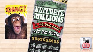 Download BIGGEST WIN EVER $$$ LIVE on the camera...what a surprise win on a $50 ULTIMATE Million Video