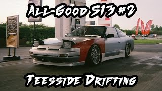 Download UK LOWSTYLE: All-Good S13 #2 Teesside Drifting Video