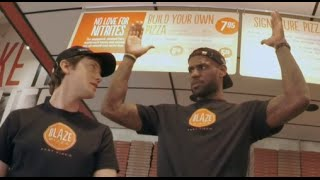 Download Lebron James Pranks Pizza Customers Video